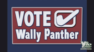 Vote Wally Panther on Wyndotte Street