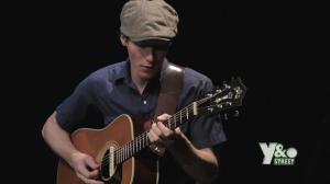 Derek Carter sings The Spins live at the Wyndotte Street Variety Show