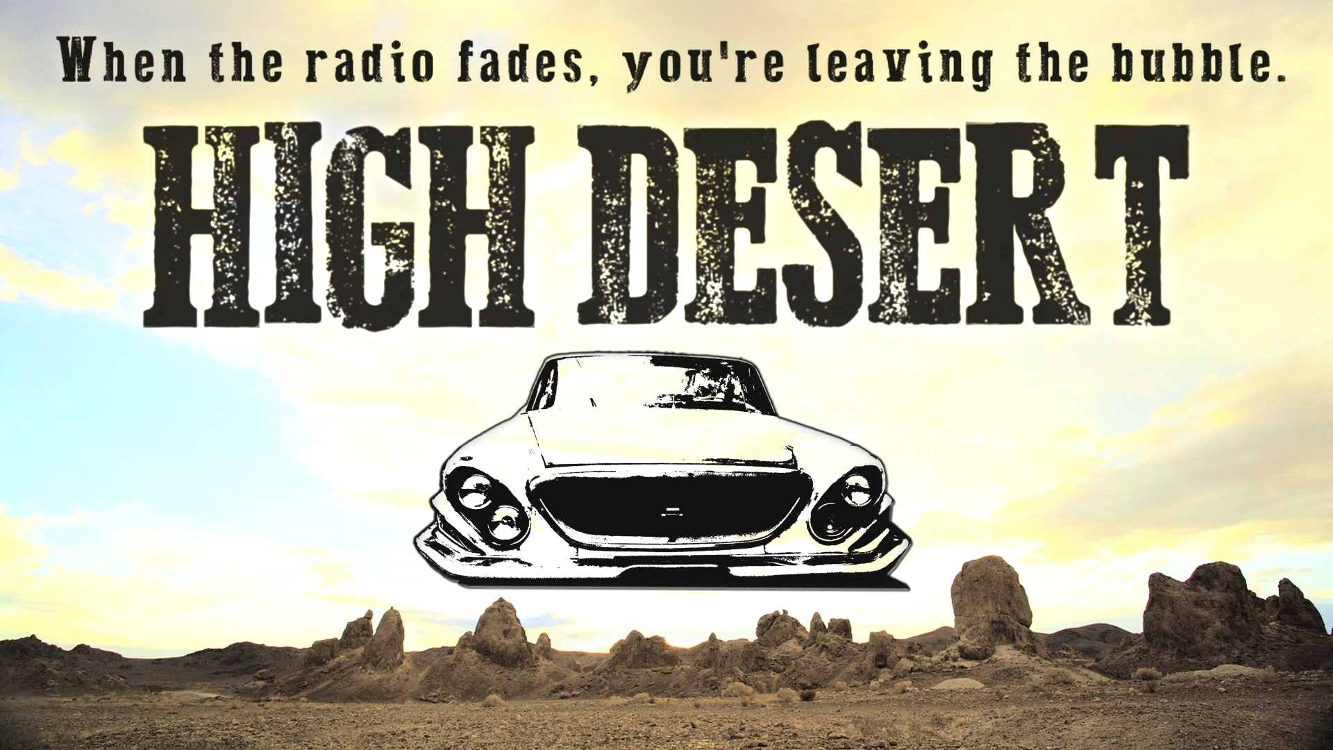 High Desert Show Card