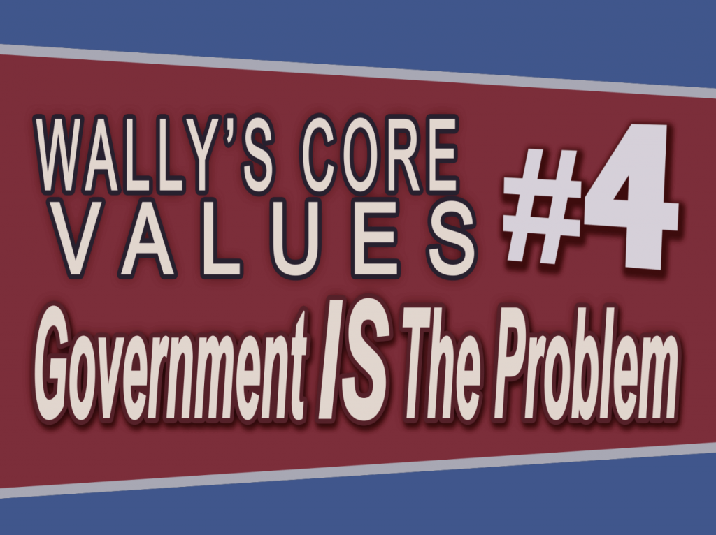 Wally Panther #4 – Government IS The Problem