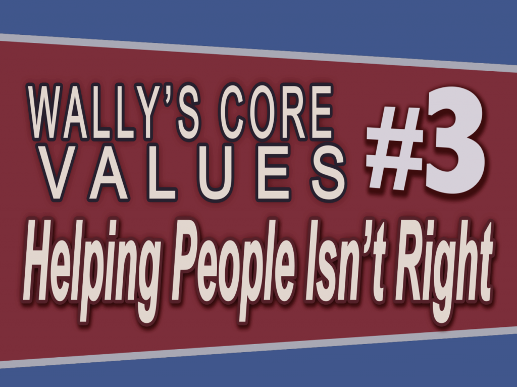 Wally Panther #3 – Helping People Isn't Right