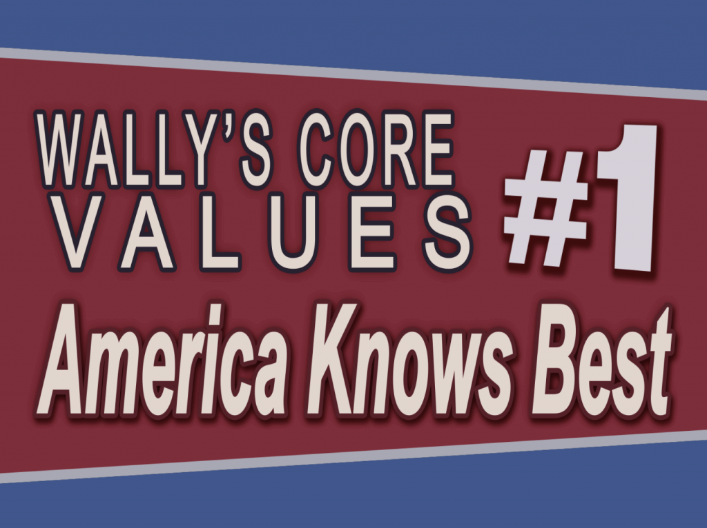 Wally Panther #1 – America Knows Best