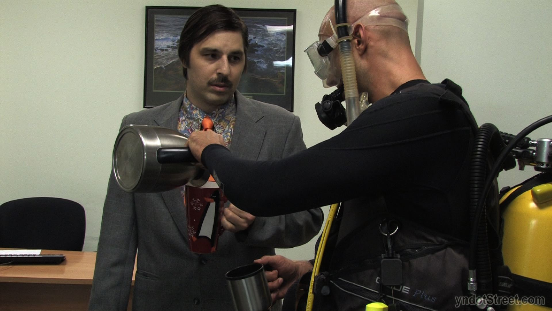 SCUBA COFFEE SERVICE (Clocking Out Production Still)