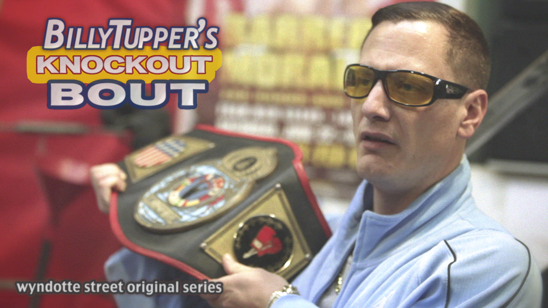 Billy Tupper's Knockout Bout Show Card