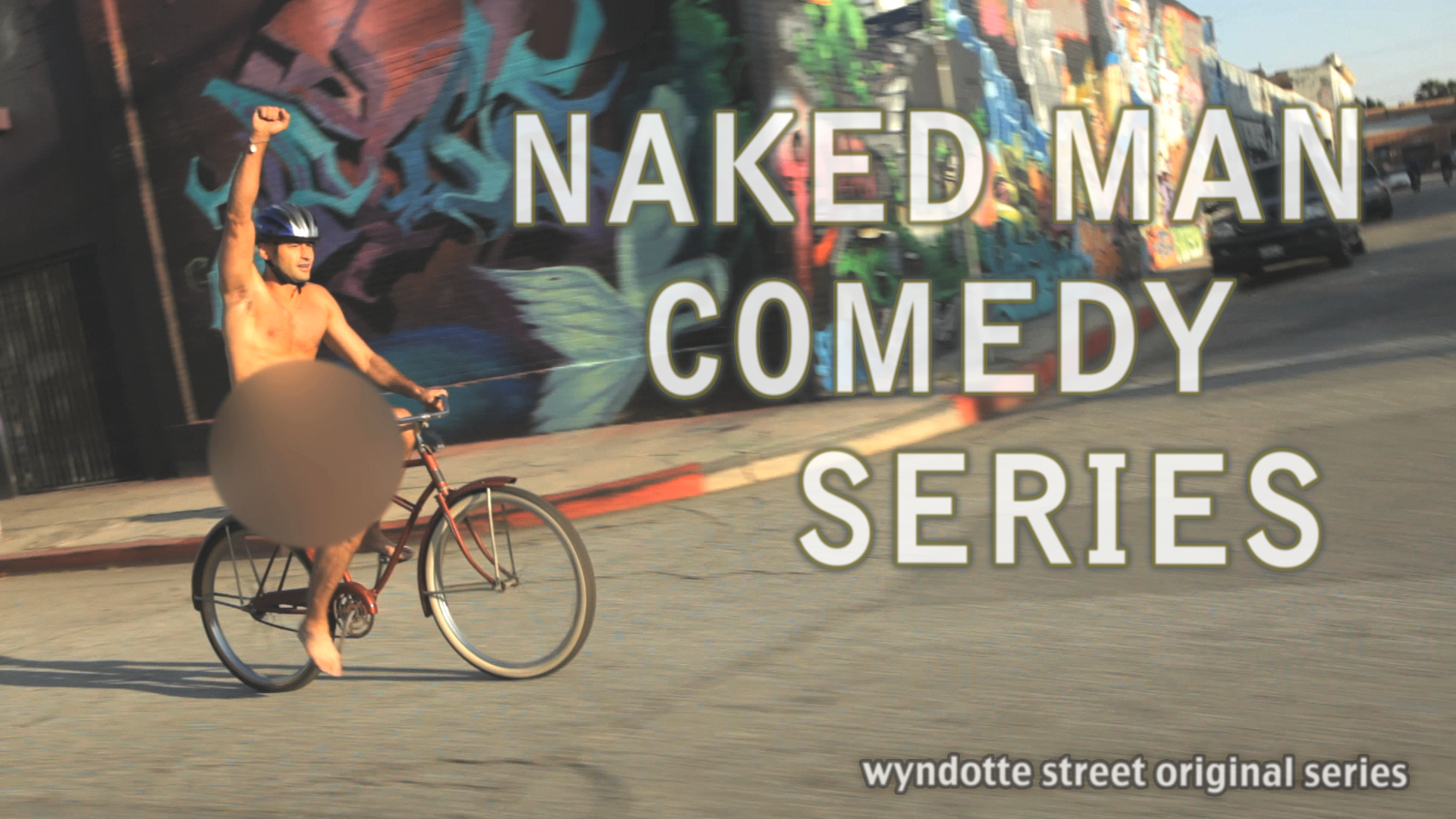 Naked Man Show Card